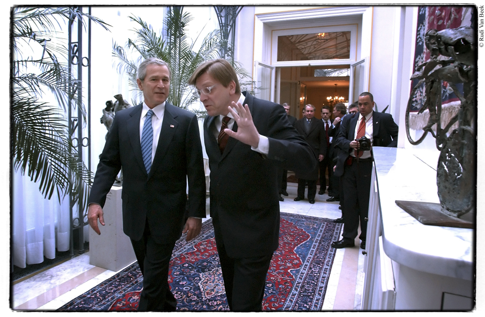 Verhofstadt versus Bush